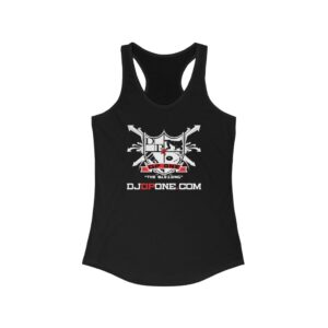 DJDPONE.COM – Women's Ideal Racerback Tank