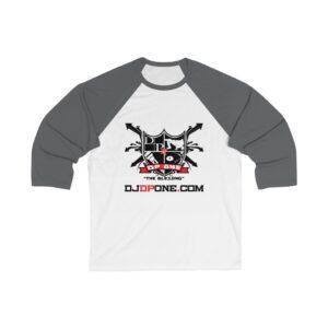DJDPONE.COM – Unisex 3/4 Sleeve Baseball Tee
