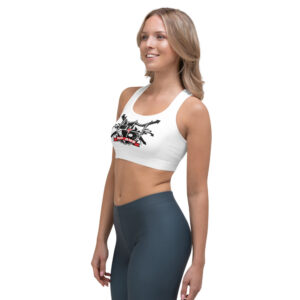 """DP ONE / """"THE BLESSING"""" – Sports Bra (Front & Back)"""