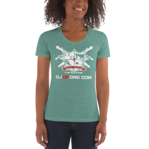 DJDPONE.COM – Women's Crew Neck T-shirt
