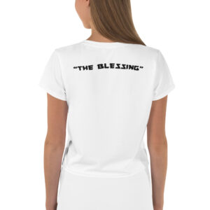 """THE BLESSING"" – Crop Tee (Front & Back)"