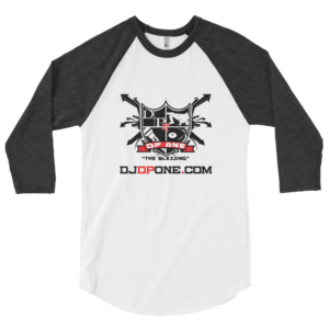 DJDPONE.COM – 3/4 Sleeve Baseball Tee