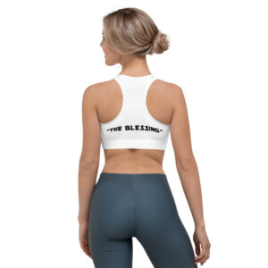 "DP ONE / ""THE BLESSING"" – Sports Bra (Front & Back)"