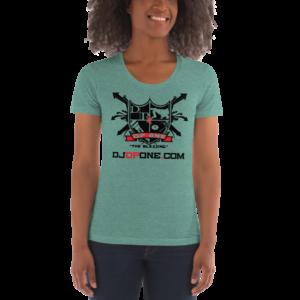 DJDPONE.COM – Women's Crew Neck T-Shirt